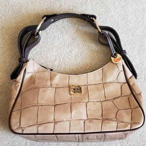 Dooney & Bourke Crocodile Hobo Bag